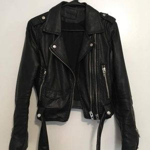 Free People Jackets & Coats - Free people vegan leather jacket